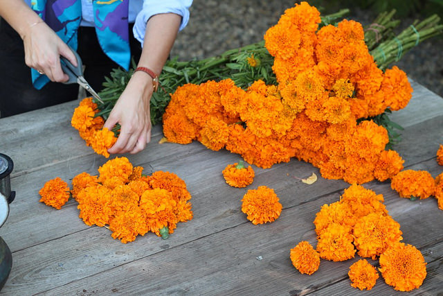 How To Make A Marigold Chain La In Bloom