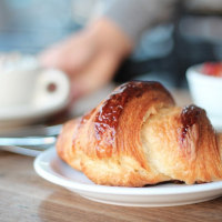I make at least one visit to Tartine and happily brave the line for their insane croissants, morning buns and muesli.