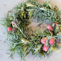 LA in Bloom | California-inspired Wreath