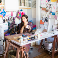 LA in Bloom | Jessica Winzelberg Studio Visit