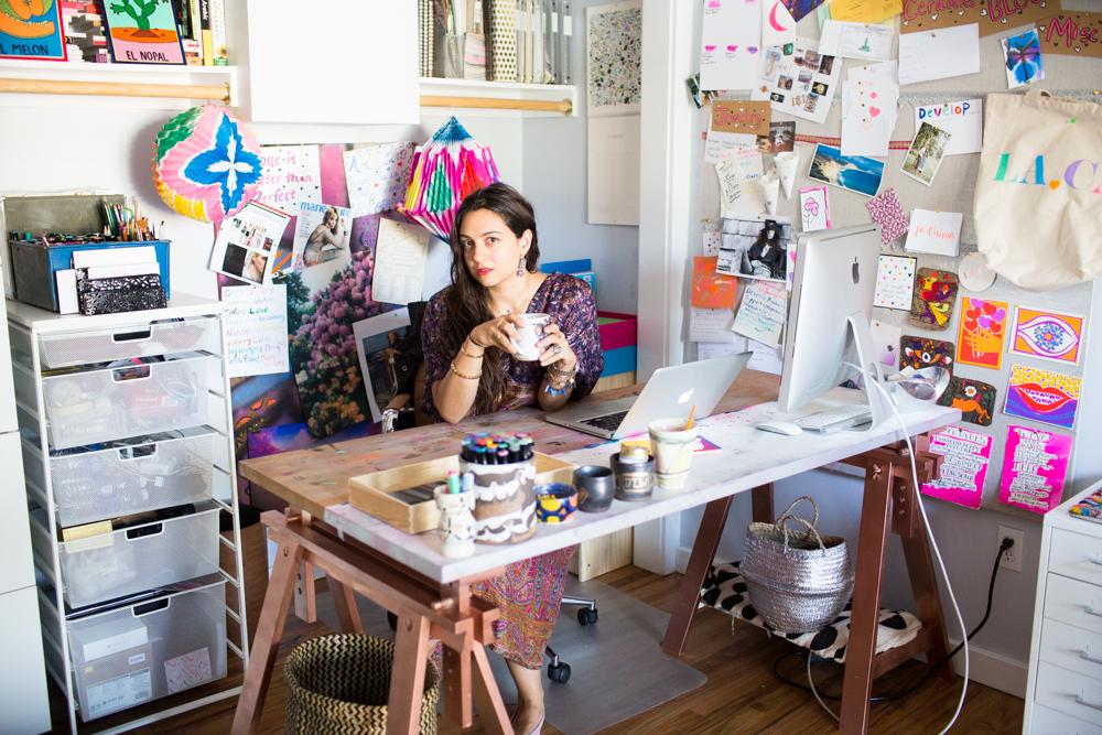 LA in Bloom   Jessica Winzelberg Studio Visit