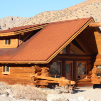 Welcome to Whitewater! We found a traditional log cabin, right in the middle of the desert.