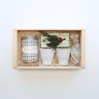 Simone LeBlanc Cacao Sipping Set, $150